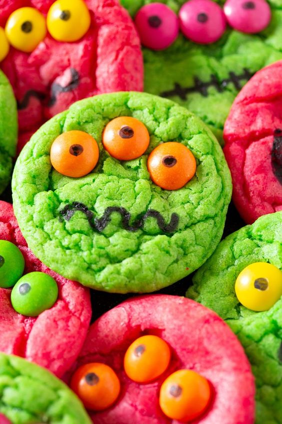 easy monster cookies i knead to bake