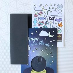 finished crystal ball card pack with envelope pop shop america