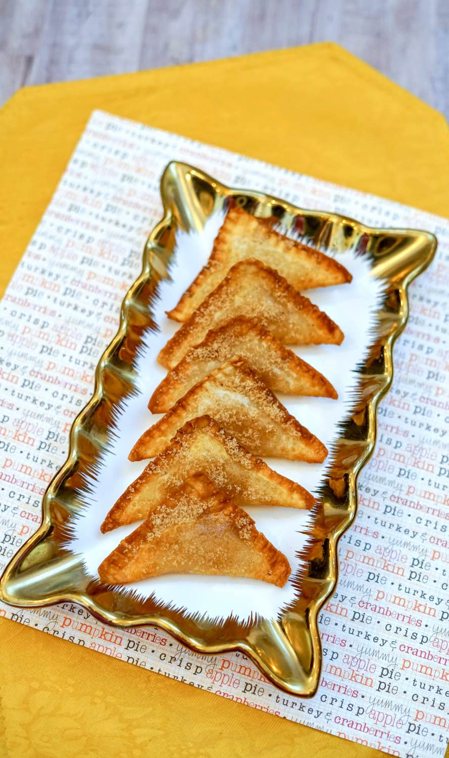 fried apple pie wonton recipe pop shop america