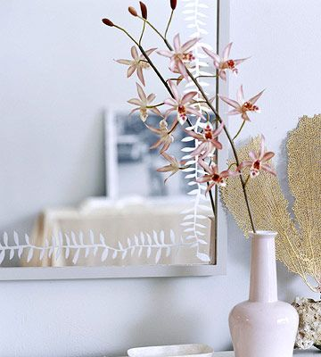 glass etched mirror diy craft tutorial