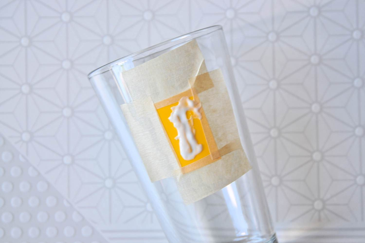 how to make glass etched monogram glasses tutorial