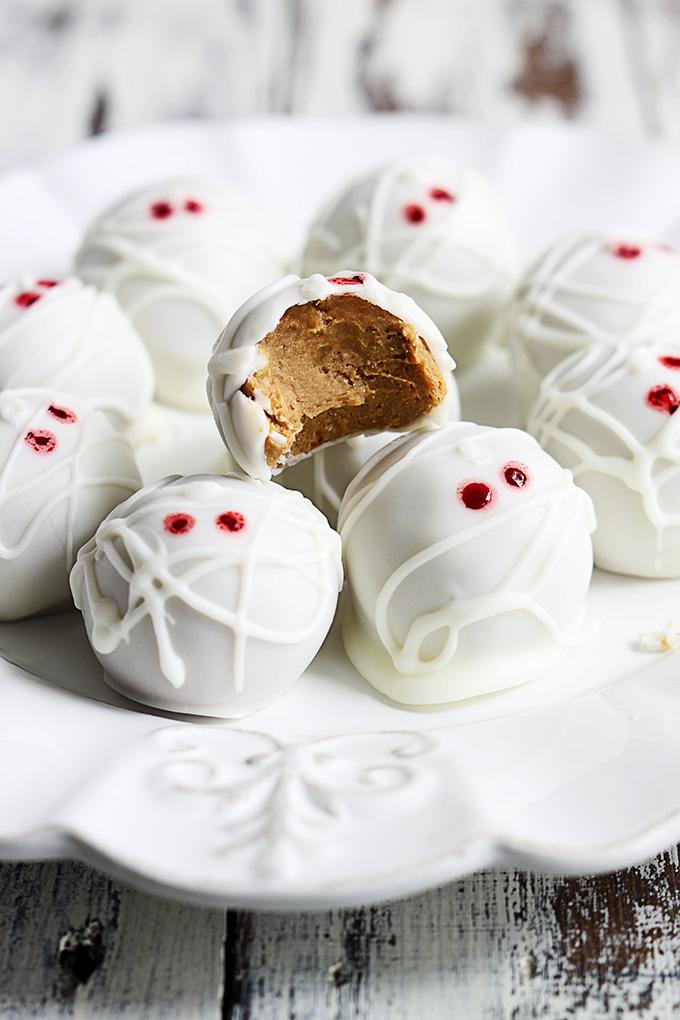 mummy-pumpkin-cheesecake-truffles-recipe