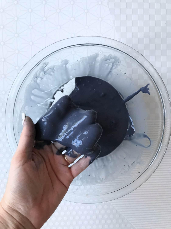 recipe for black galaxy slime diy pop shop america