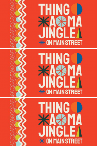 thing a ma jingle on main street poster pop shop america