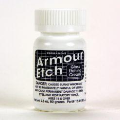 armour etch 2.8 oz glass etching cream