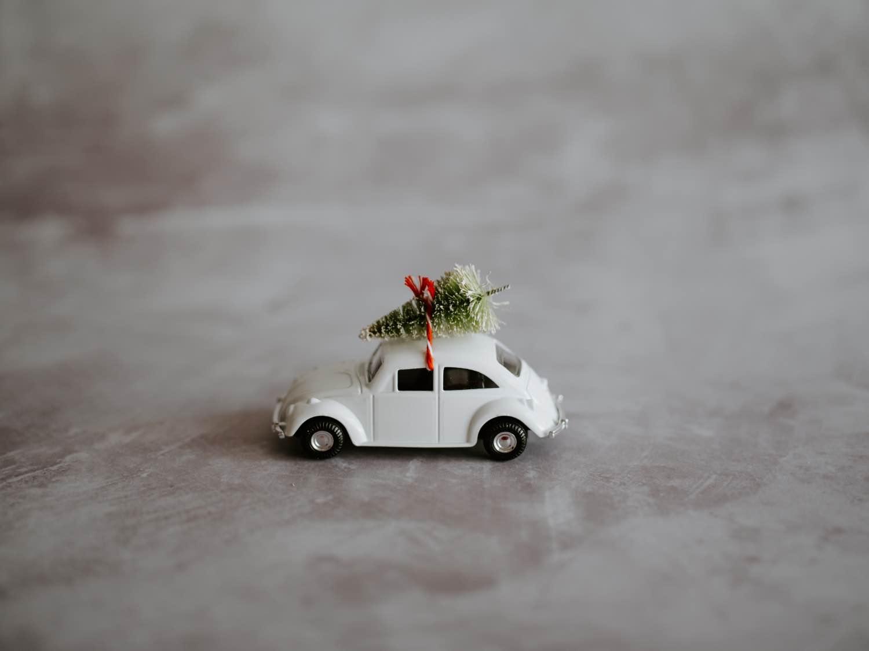 how to make a vintage car christmas decoration pop shop america