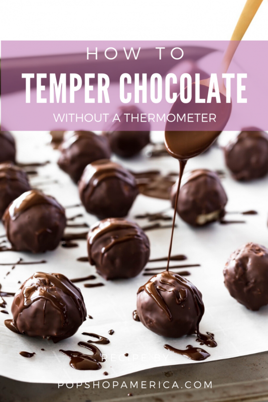 how to temper chocolate without a thermometer