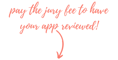 pay the jury fee to have your app reviewed graphic web
