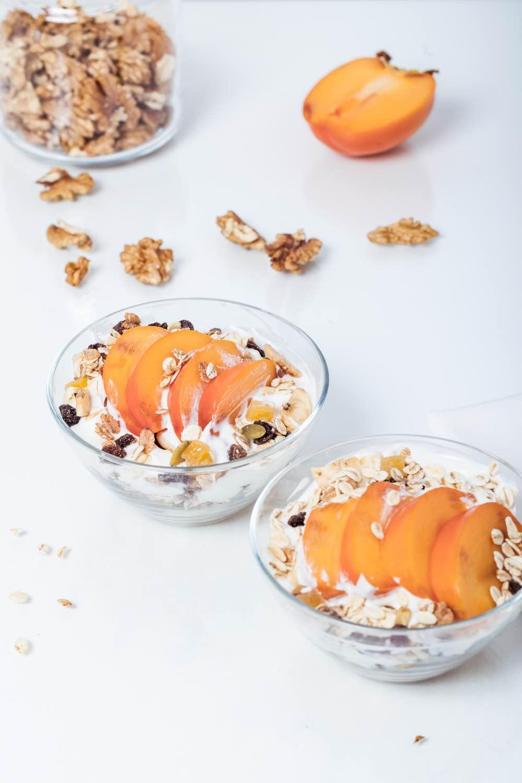 peaches and cream overnight oats finished recipe pop shop america