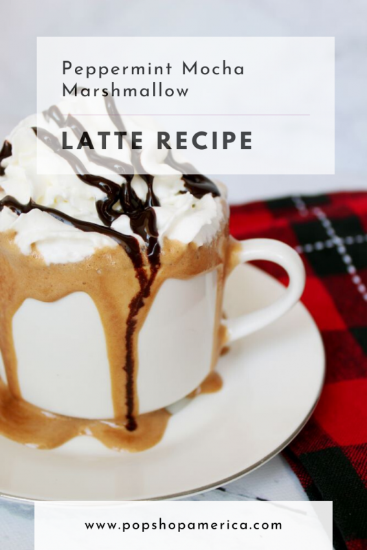 peppermint mocha marshmallow latte recipe