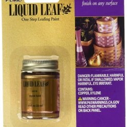 plaid liquid leaf in classic gold pop shop america