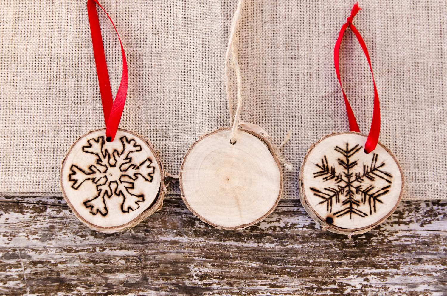 wood burned holiday ornaments diy for craft in style