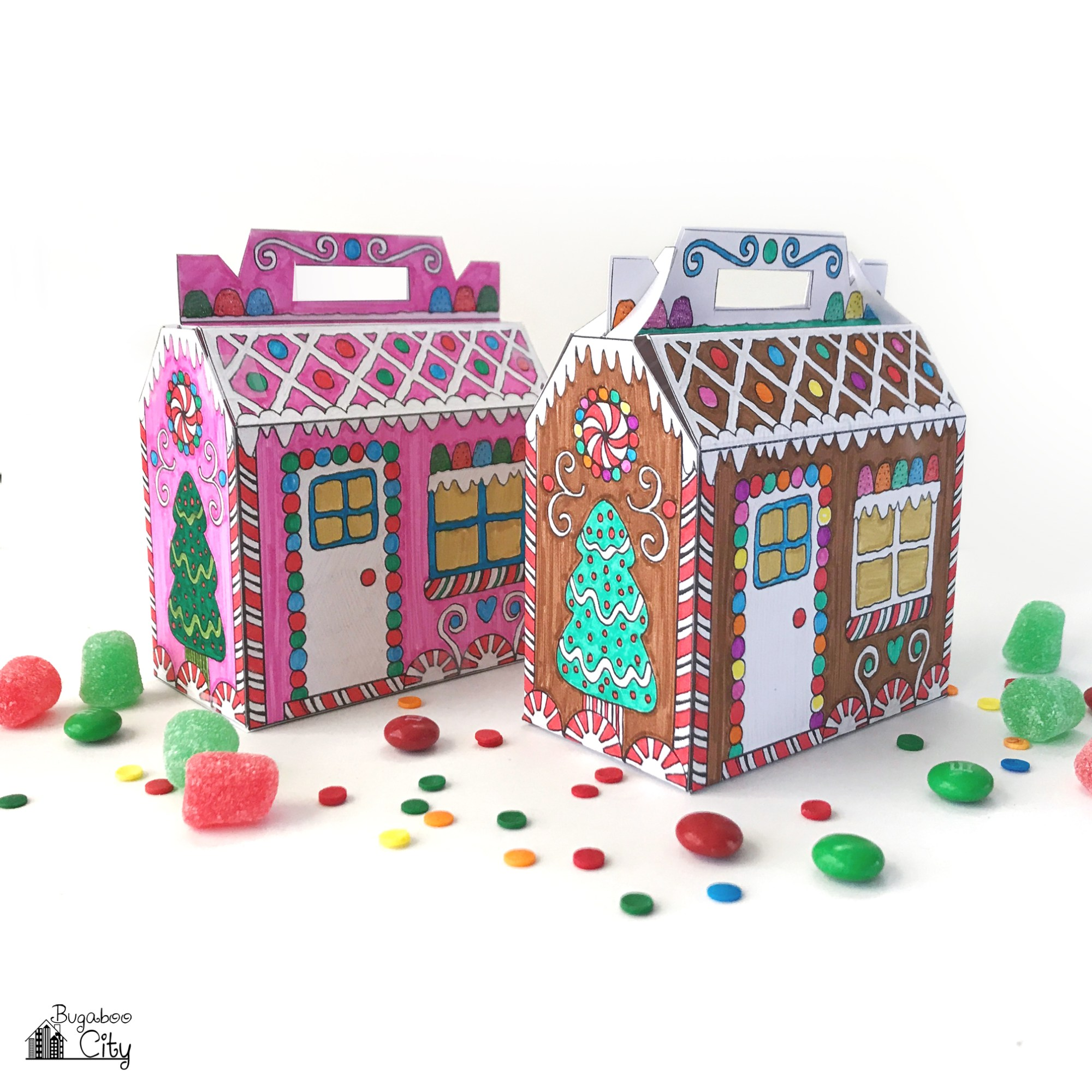 Color-Your-Own-Gingerbread-Houses