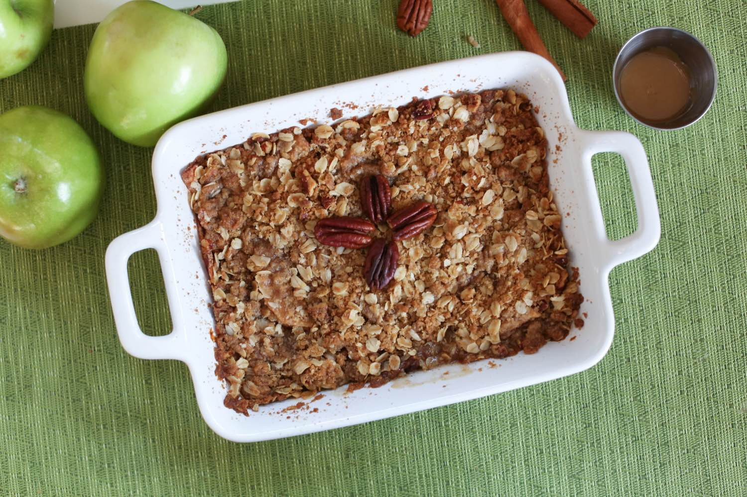 baked apple crisp recipe by pop shop america