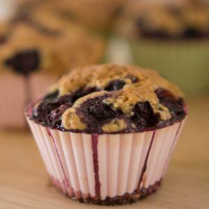 blueberry cobbler muffin recipe square