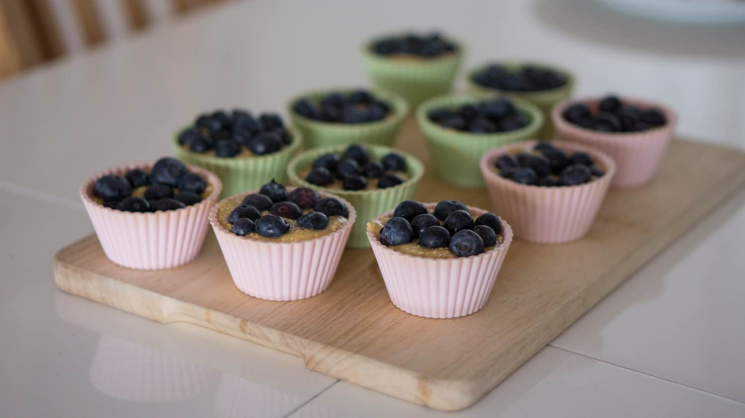 blueberry cobbler muffins in muffin tins recipe