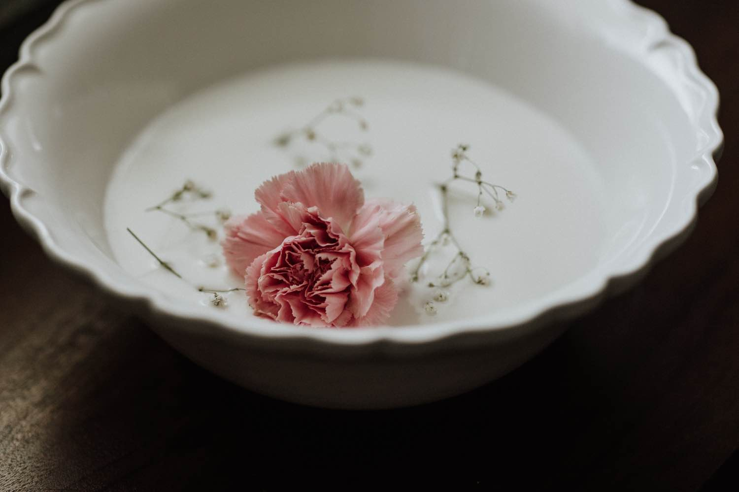coconut milk and fresh flower bath soak recipe