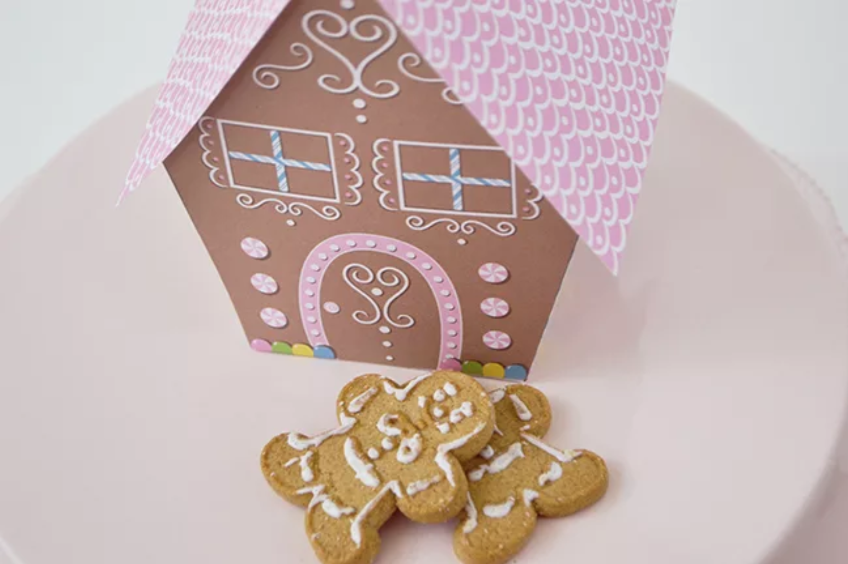 design dazzle free printable gingerbread house