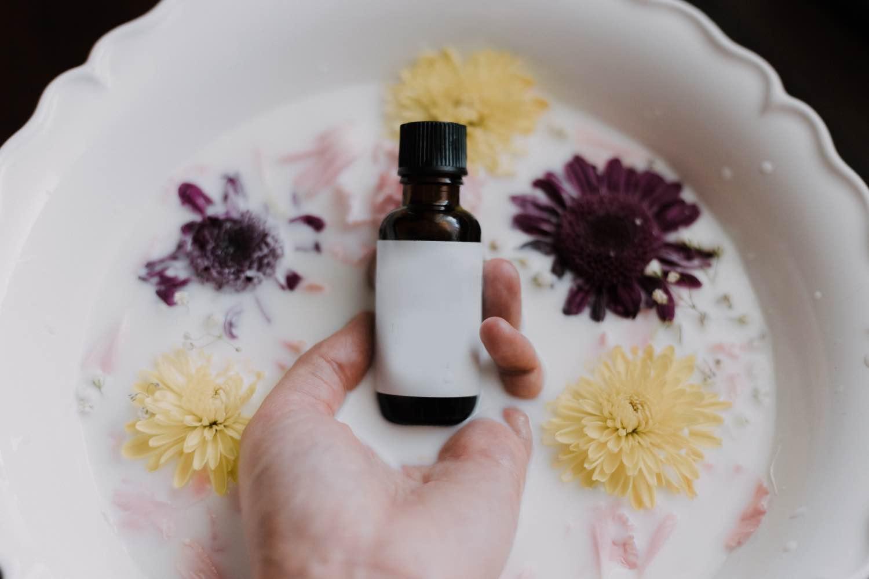 diy bath soak recipe with fresh flowers pop shop america