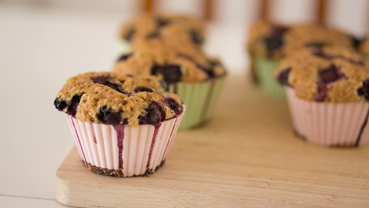 finished blueberry cobbler muffins recipe pop shop america