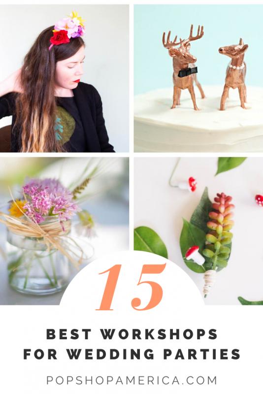 15 best workshops for wedding parties
