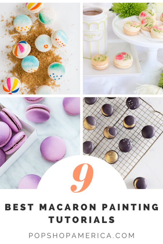9 best macaron painting tutorials pop shop america