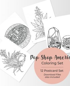 Pop Shop America-Coloring-Page-Set-with-Terrariums