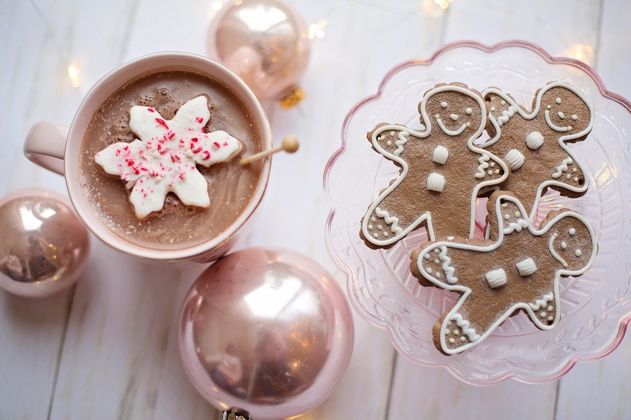 add snowflake marshmallows to your hot chocolate