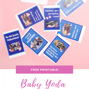 baby yoda valentine cards free printable