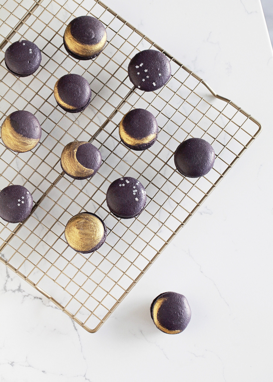 blackberry eclipse macarons posh little designs