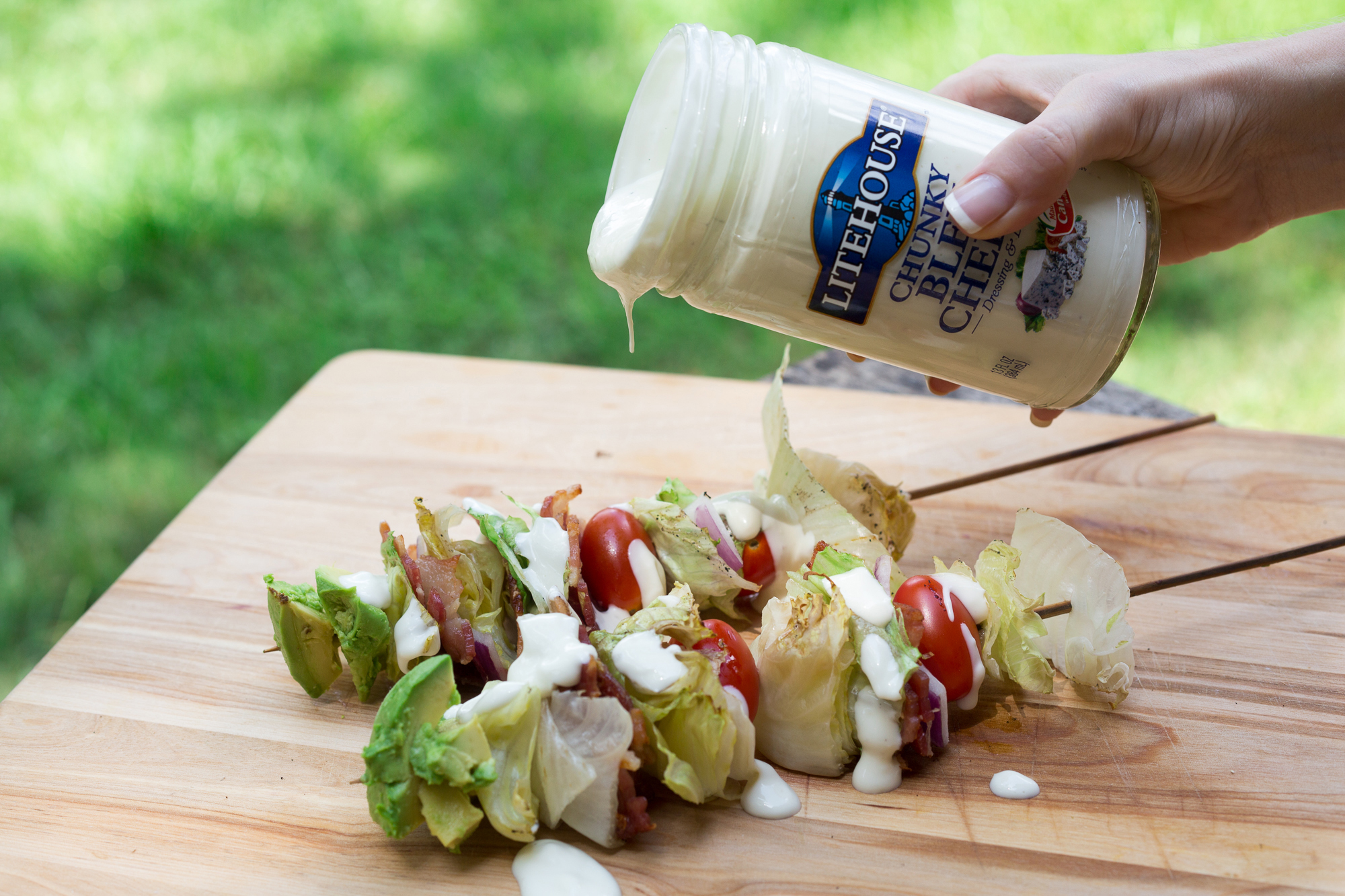 grilled-wedge-salad-skewers-finished-skewers-drizzle-dressing