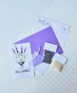 make your own lavender sachet craft kit pop shop america