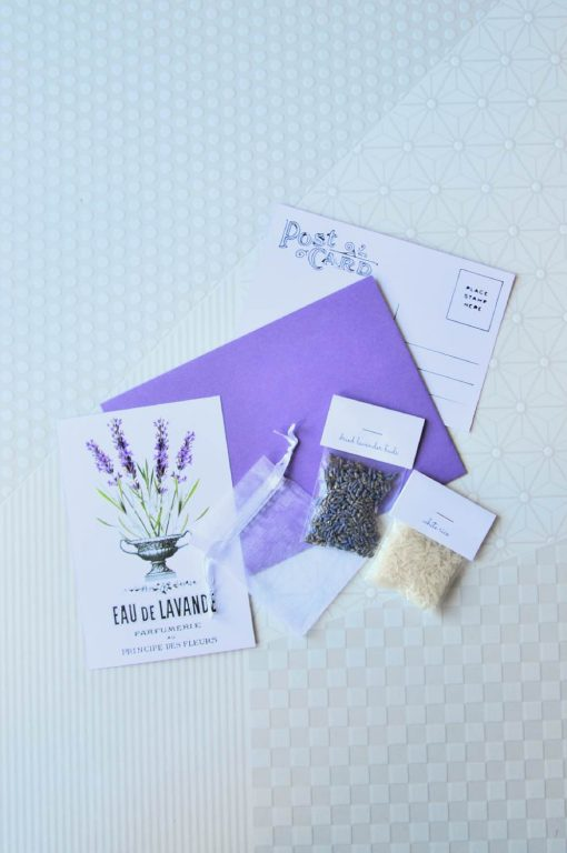 make your own lavender sachet craft kit pop shop america