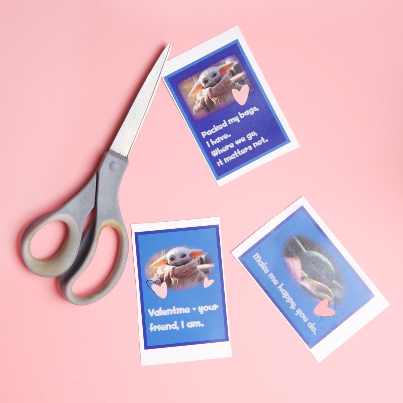 valentine cards with baby yoda printables pop shop america