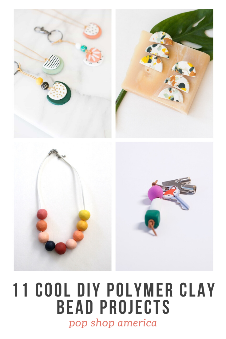 11 Cool Diy Polymer Clay Bead Projects