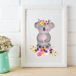 Australian-Watercolor-Animals-and-Wreaths-koala_square