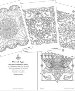 adult coloring book for jewish holidays pop shop america