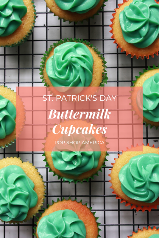 buttermilk cupcakes with cream cheese frosting recipe pop shop america