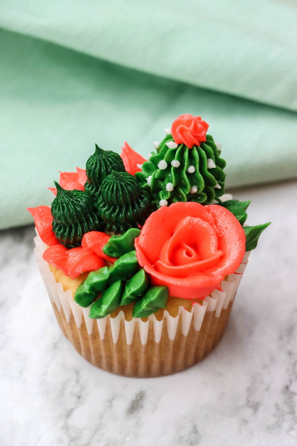 How To Make Succulent Cupcakes