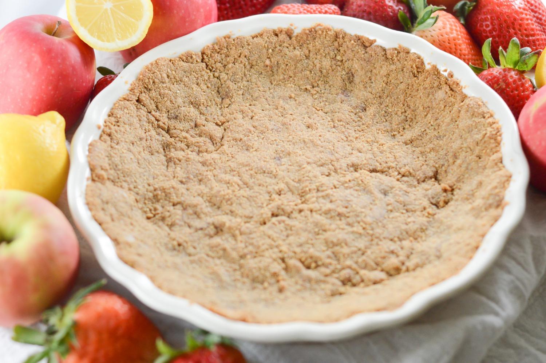 homemade finished graham cracker pie crust recipe