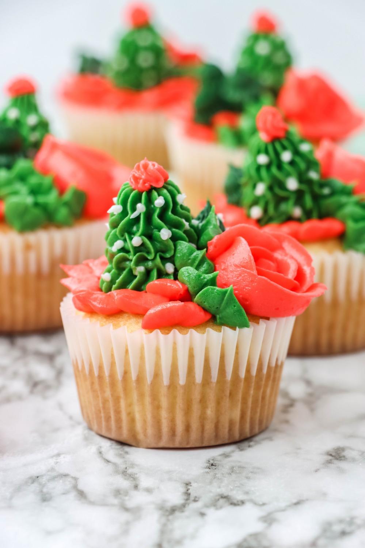 how to make cactus cupcakes recipe tutorial pop shop america