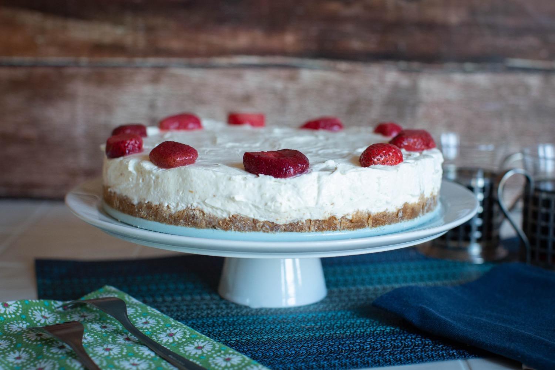 no bake cheesecake plated pop shop america