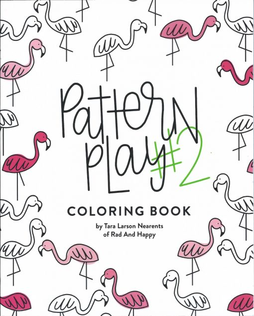 pattern play #2 coloring book pop shop america