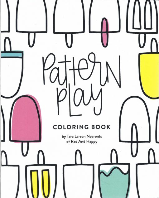 pattern play coloring book cover pop shop america