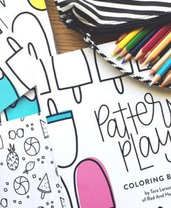 pattern play coloring book pop shop america