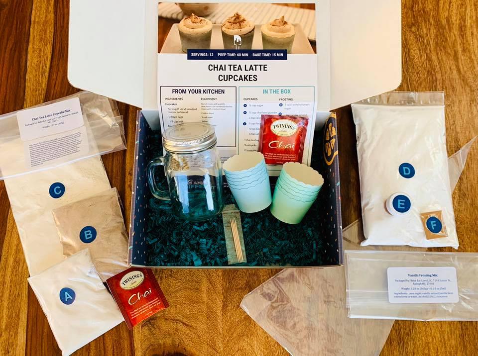 see inside bake eat love Bel Box subscription baking