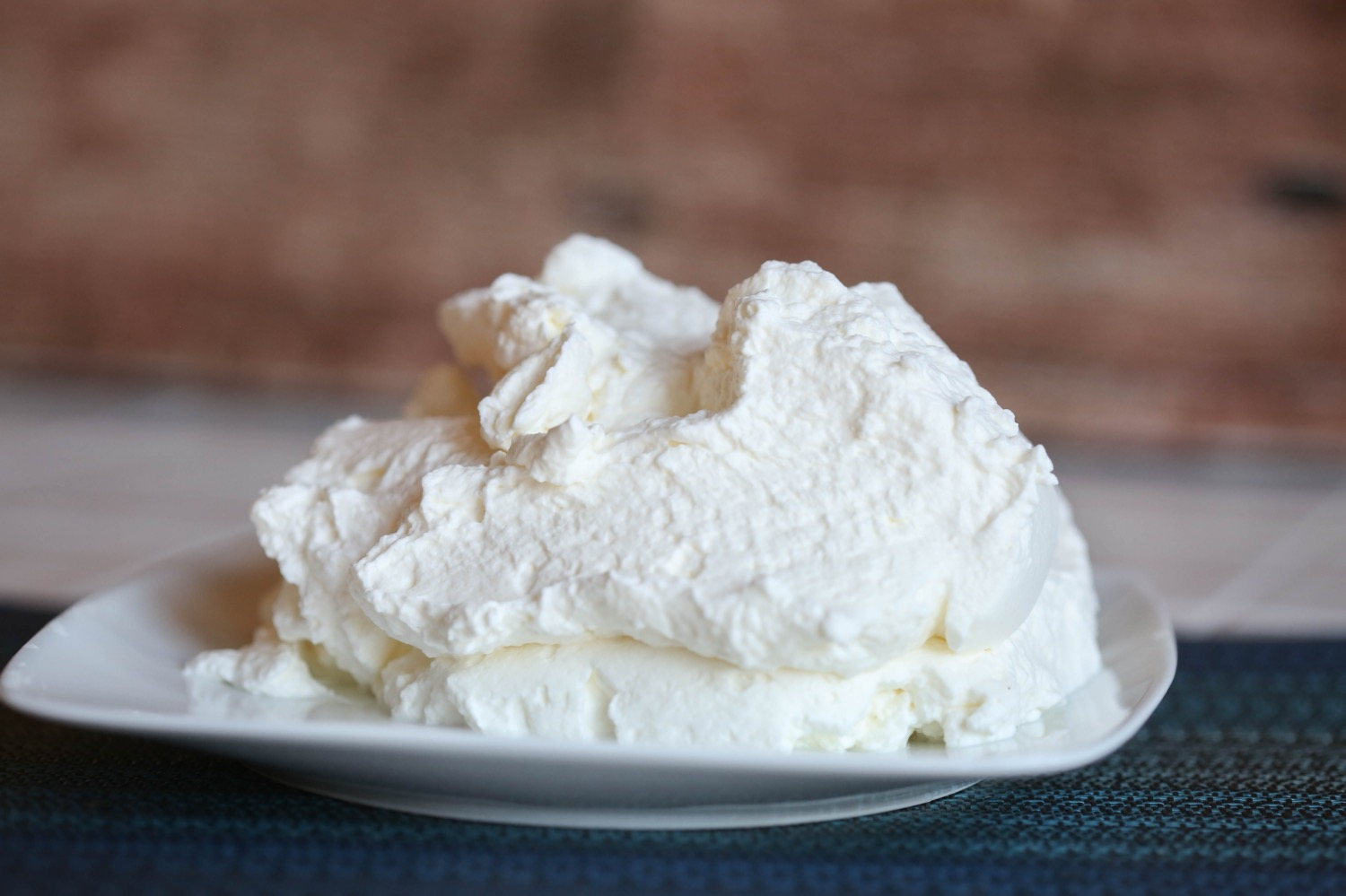 whipped cream for no bake cheesecake recipe
