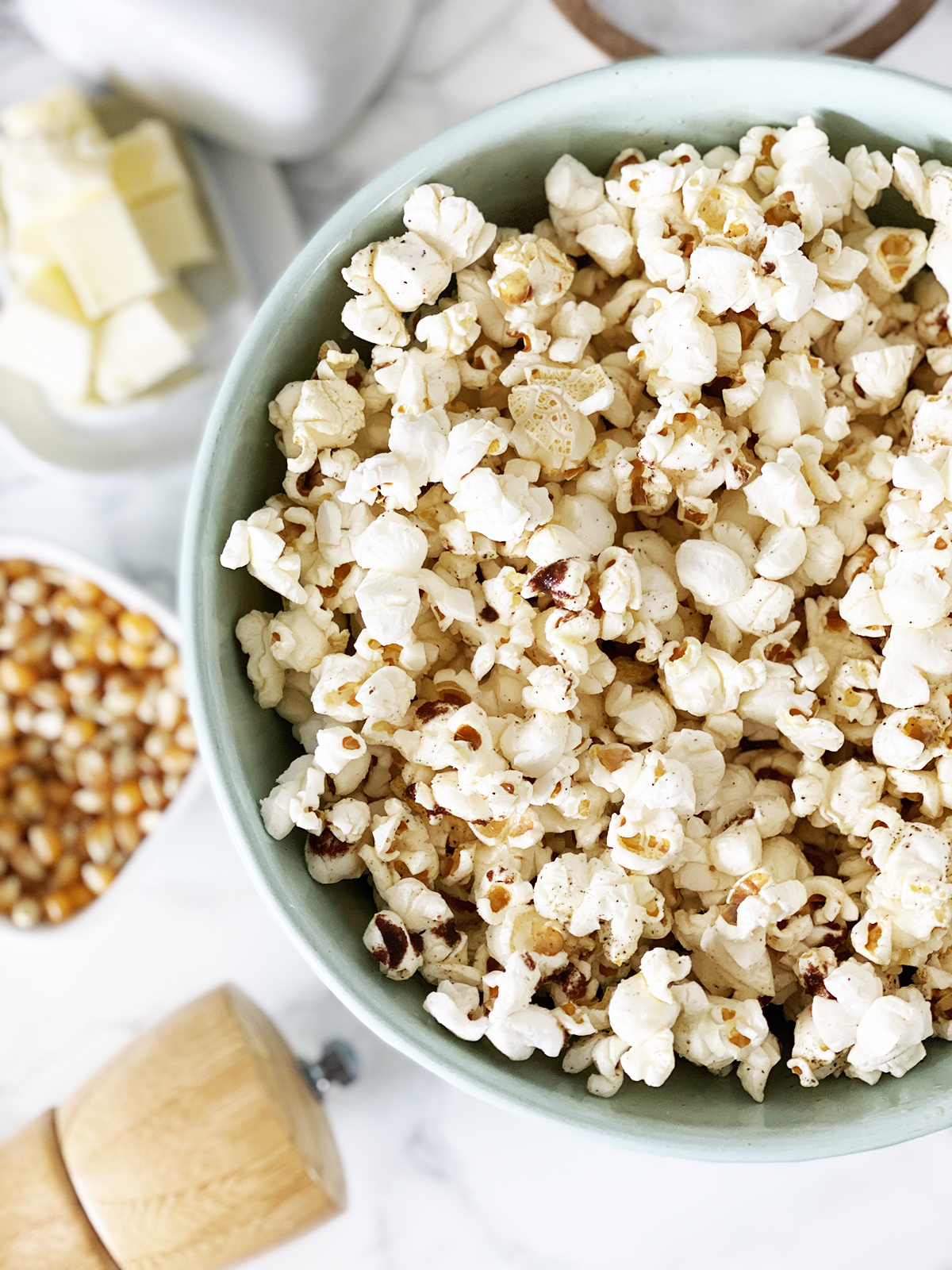 Brown Butter Black Pepper Popcorn