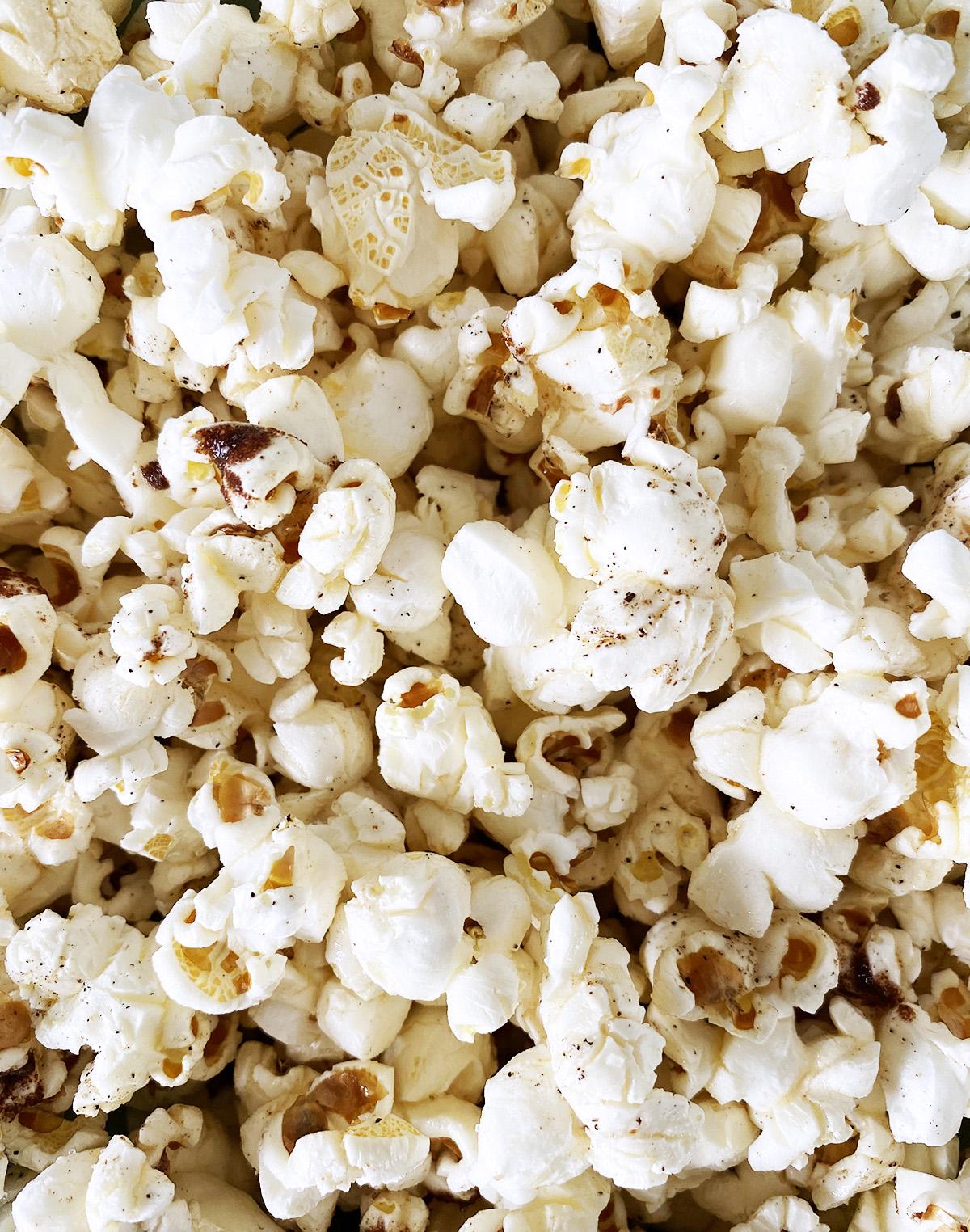 Brown Butter Black Pepper Popcorn
