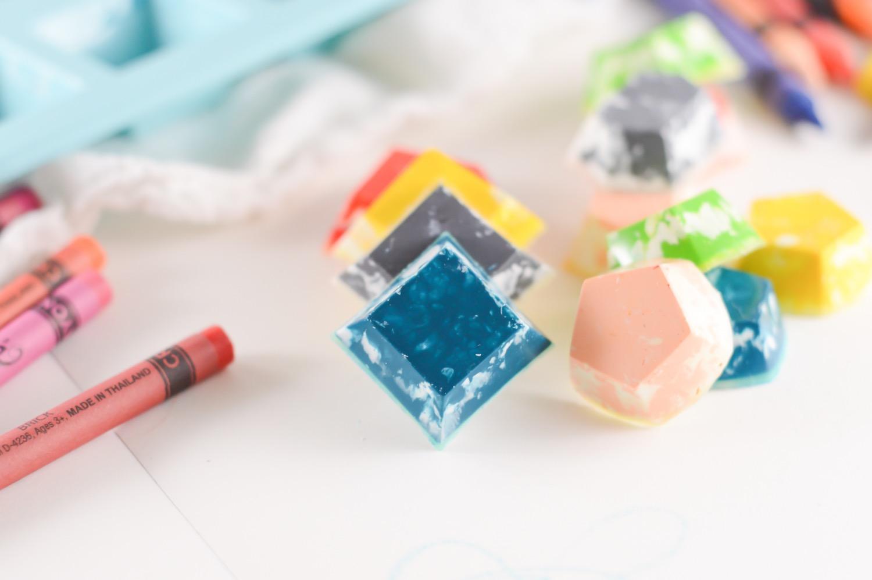 diy homemade gemstone crayons pop shop america
